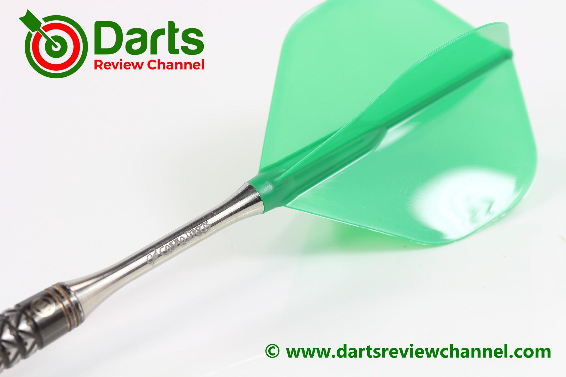 Cosmo Darts Plumas fit Flight Air Super Shape Verde