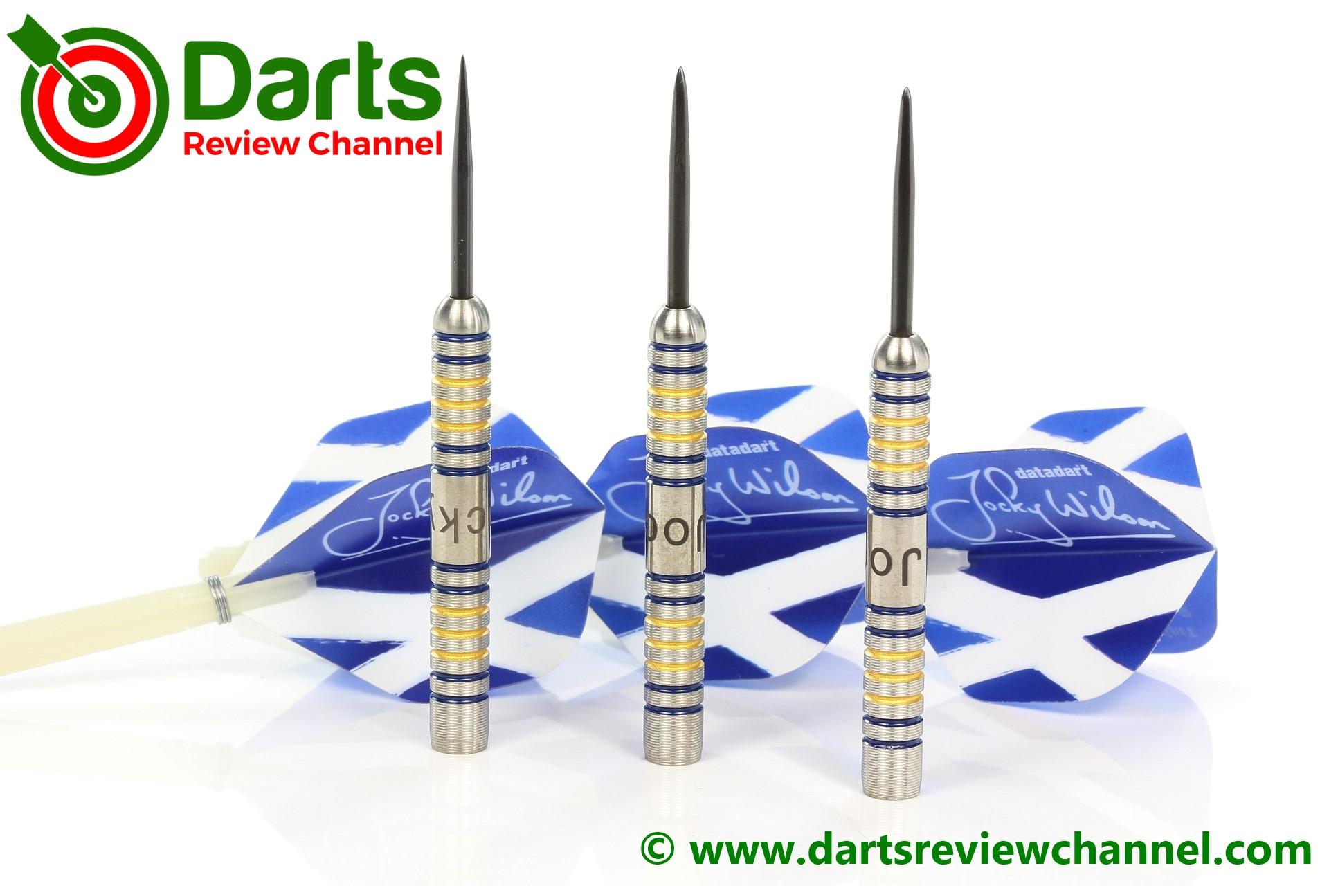 Datadart Jocky Wilson 26g Ghost Grip Tungsten Darts Set